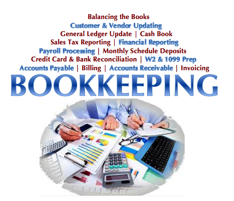 Behind on your bookkeeping?