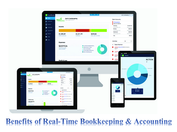 Real Time Bookkeeping Benefits