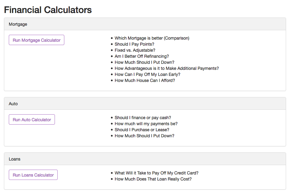 Financial Calculators - APO Bookkeeping - Eugenie Nugent
