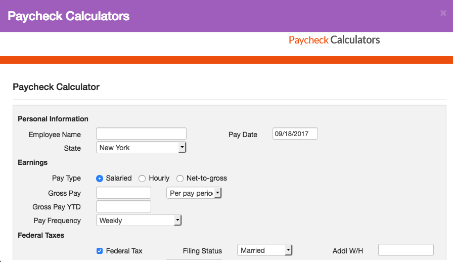 Paycheck Calculator | APO Bookkeeping & Consulting Services
